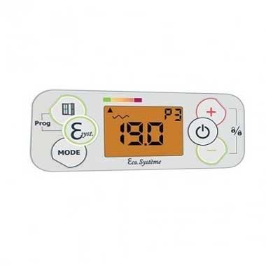 AIRELEC Fever Radiateur inertie horizontal blanc 1500W - A692795