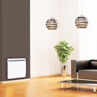 AIRELEC Duplex Radiateur inertie horizontal blanc 1000W - A692803
