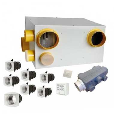 AUTOGYRE Kit VMC double flux Vital Air 90 à capteurs de pollution - 101445