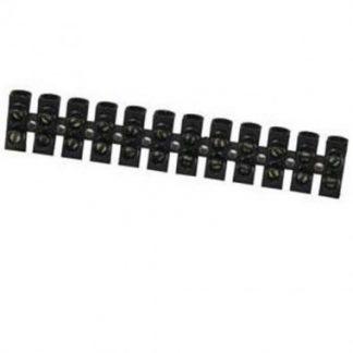 Barrette de connexion avec 12 plots de 2.5mm²
