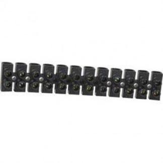 Barrette de connexion avec 12 plots de 10mm²