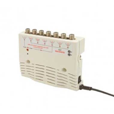 Amplificateur TV 5 sorties + coupleur SAT.