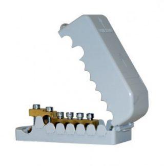 Répartiteur de terre 35 mm² 5 départs