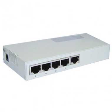 Switch 5 ports RJ45 10/100 Mbps