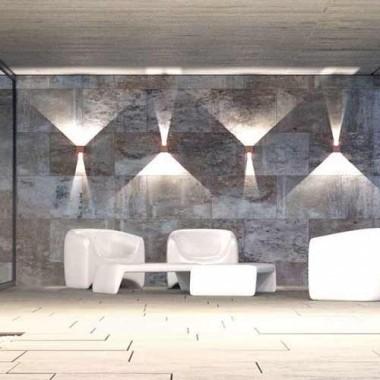 BENEITO FAURE Applique extérieure LED LEK orientable 6,8W 542lm 4000°K blanc