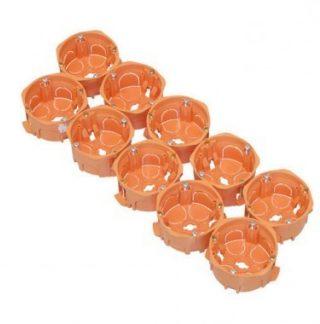 CAPRI Capriclips Lot de 10 boites encastrement simples pour cloison sèche D67 P40 - CAP036819