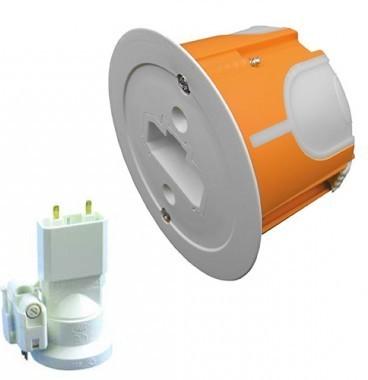 CAPRI Capritherm+ Boite DCL pour applique D67 P40 + douille E27 + fiche - CAP723652