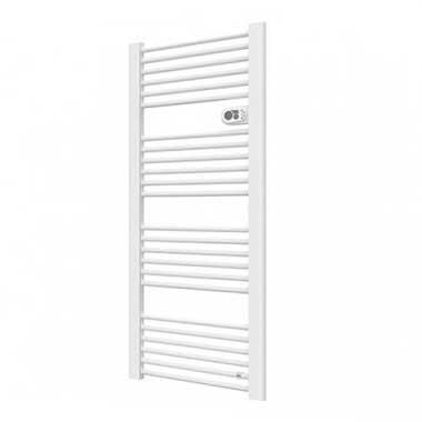 DELONGHI Doll 750 Sèche-serviettes électrique blanc programmable 750W - 278599