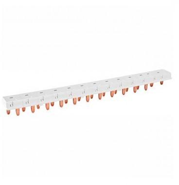 SIEMENS Peigne d'alimentation électrique horizontal Phase Neutre 13 modules
