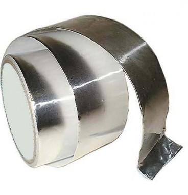 DMO Bande autocollante aluminium 120°C 10m 50mm - 010041