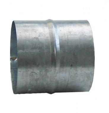 DMO Manchon de raccordement 80mm acier galvanisé - 010080