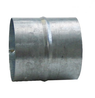 DMO Manchon de raccordement 100mm acier galvanisé - 010081