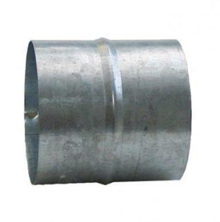 DMO Manchon de raccordement 125mm acier galvanisé - 010082