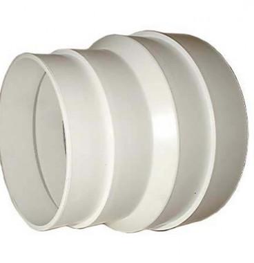 DMO Réduction conique en PVC de 80mm à 100mm - 010090