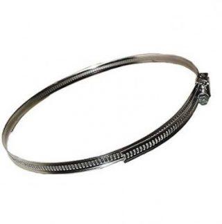 DMO 2 colliers plats à tête basculante 55 à 170mm - 010125