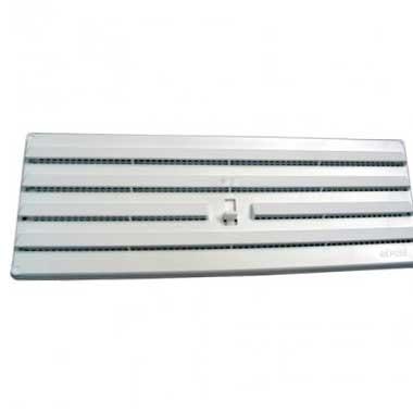 DMO Grille PVC réglable en applique 245x170mm blanc - 010694