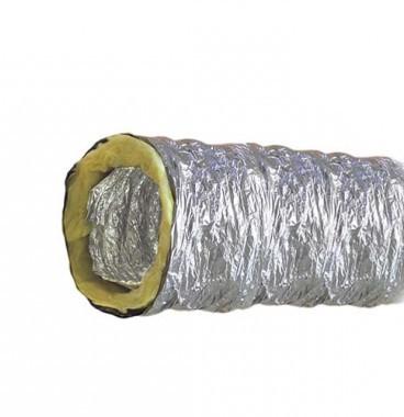 DMO Gaine distribution d'air chaud isolée en aluminium D125mm L5m - 30112505