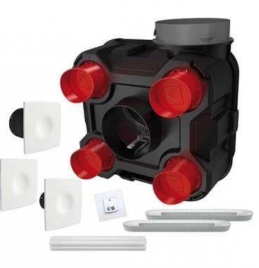 DMO Kit VMC simple flux hygrovariable Evia QAI à capteur de pollution - 565120