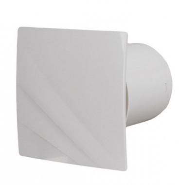 DMO Extracteur d'air extra plat Divino avec sonde d'humidité et timer 130m³/h pour salle de bains - 72973
