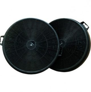 DMO Lot de 2 filtres à charbon actif pour hotte de cuisine - 94198