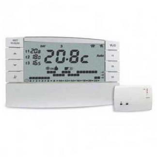 ELESYS Thermostat électronique digital programmable sans fil + 1 récepteur