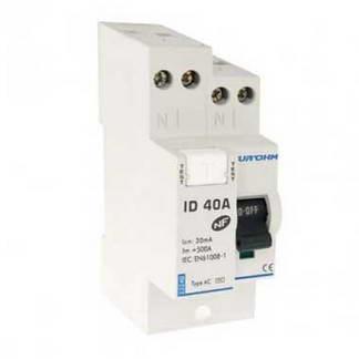 EUROHM Interrupteur différentiel 40A 30mA type AC 230V - 23240
