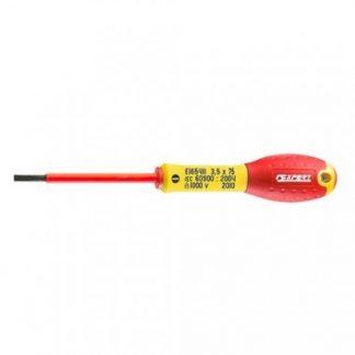 Expert by FACOM Tournevis plat isolé 1000V fente électricien 6,5x150mm - E165420