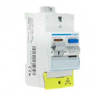 HAGER Interrupteur différentiel SanVis 40A 30mA type AC auto 230V - CDS742F