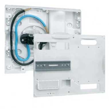 HAGER Panneau de contrôle pour compteur Linky et CBE 13 modules - GA01N