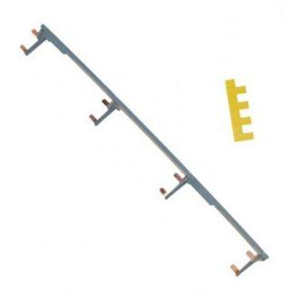 HAGER Peigne vertical 4 rangées entraxe 125mm - KCN425