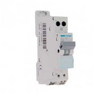 HAGER Disjoncteur 20A auto Ph+N calibre C 3kA 230V - MFS720