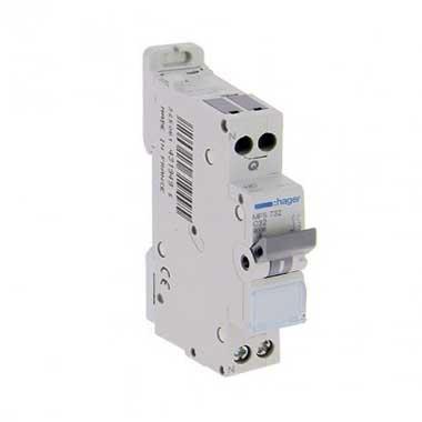 HAGER Disjoncteur 32A auto Ph+N calibre C 3kA 230V - MFS732