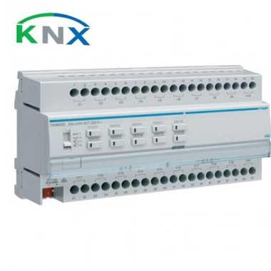 HAGER KNX Actionneur de commutation 20 sorties multifonctions 16A - TXM620D
