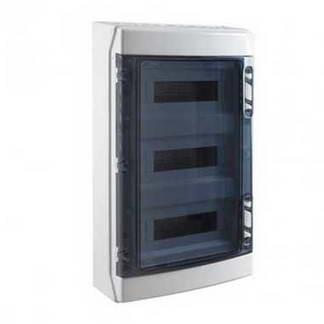IDE Tableau électrique étanche 3 rangées de 12 modules IP65 - CDN36PT3F/RR