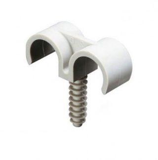 ING FIXATIONS Fix-ring Fixation double pour gaine ICTA D20 - Boite de 100 - A301750