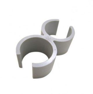 ING FIXATIONS Fast-Ring Attache pour fixation tube D20 - Sachet de 10 - A854020