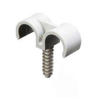 ING FIXATIONS Fix-ring Fixation double pour gaine ICTA D25 - Sachet de 25 - A863780