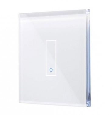 IOTTY Interrupteur connecté tactile WIFI en verre blanc - LSWE21W