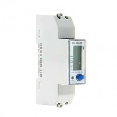 KETLER Compteur d'énergie 100A mono certifié MID - KE10006