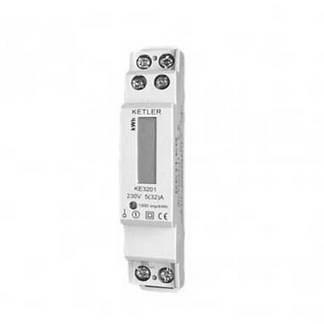 KETLER Compteur d'énergie 32A monophasé - KE3201