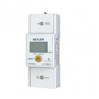 KETLER Compteur d'énergie 80A monophasé - KE8003