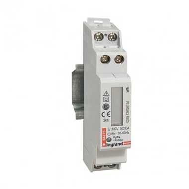 LEGRAND EMDX³ Compteur d'énergie 32A monophasé raccord. direct - 004670