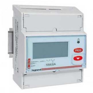 LEGRAND EMDX³ Compteur d'énergie 63A triphasé raccord. direct - 004673