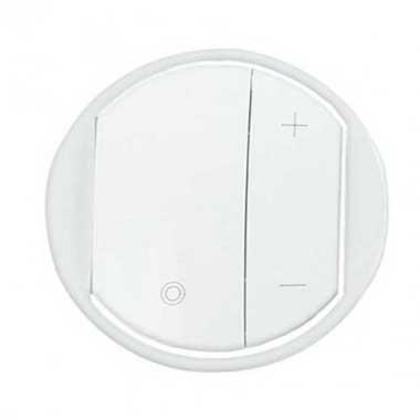 LEGRAND Céliane Enjoliveur interrupteur variateur blanc - 065083