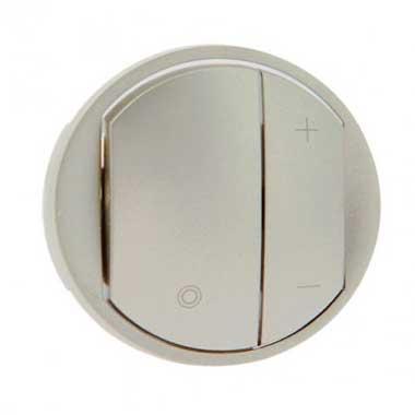 LEGRAND Céliane Enjoliveur interrupteur variateur titane - 065183