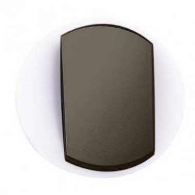 LEGRAND Céliane Enjoliveur va et vient/poussoir avec couronne lumineuse doigt large graphite - 065204
