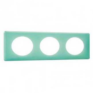 LEGRAND Céliane Plaque Memories triple 50's turquoise - 066643