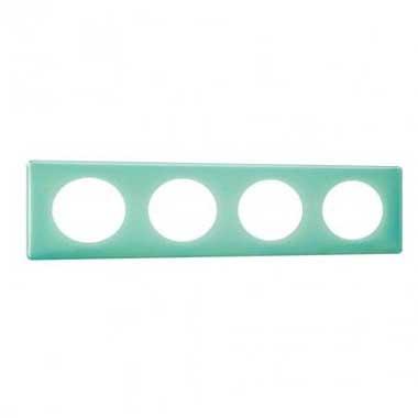 LEGRAND Céliane Plaque Memories quadruple 50's turquoise - 066644