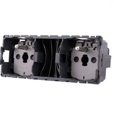 LEGRAND Céliane Prise de courant précâblée 2x2P+T - 067124