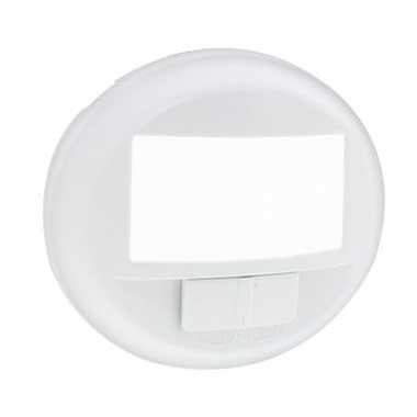 LEGRAND Céliane Enjoliveur écodétecteur avec dérogation blanc - 068026